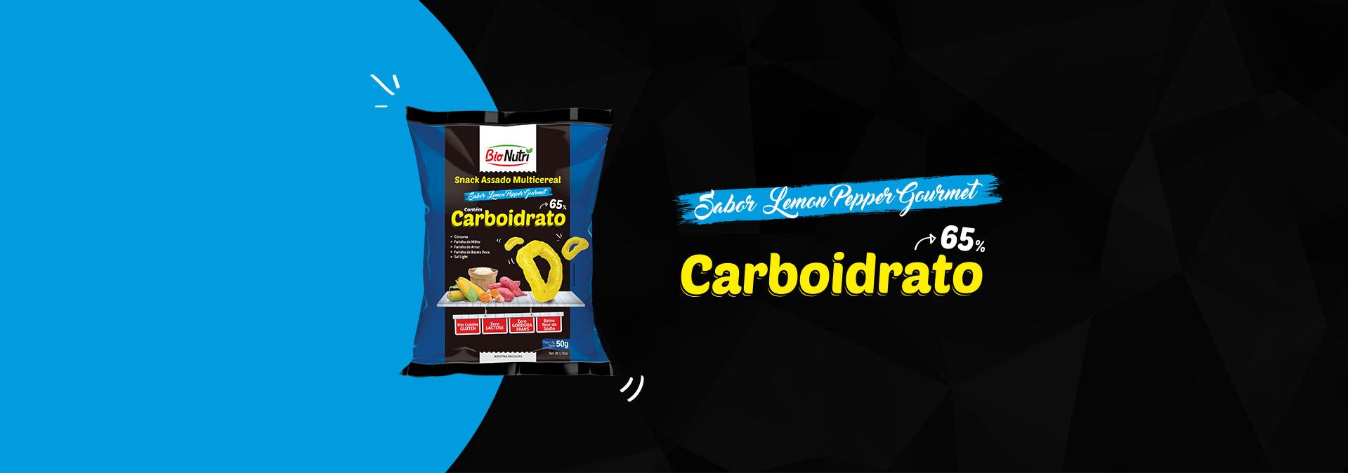 Sabor Lemon Pepepr Gourmet Carboidrato 65%