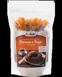Mix para bolo Damasco e Nozes Bionutri