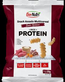 Snack de Arroz Proteína Bionutri