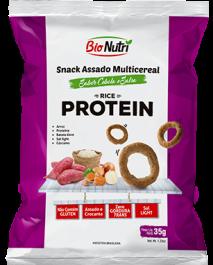 Snack de Arroz Proteína