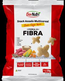 Snack de Arroz Fibra Bionutri