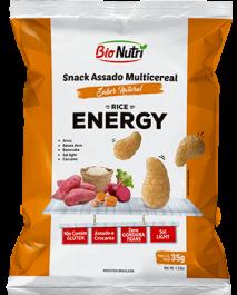 Snack de Arroz Energy Bionutri