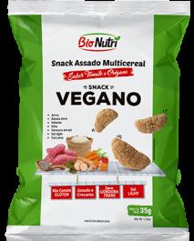 Snack de Arroz Vegano